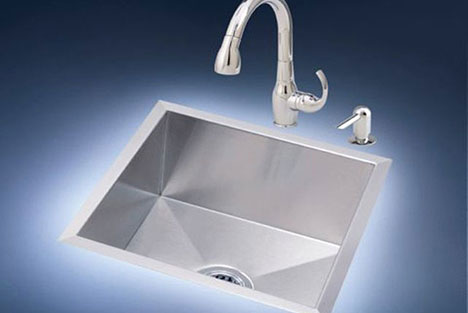 Zero Radius Sink Stainless Steel Ktichen From Just