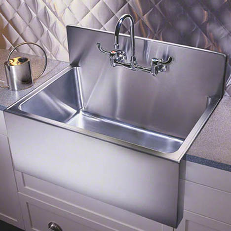 Large Apron Sink : Large Capacity Sink Farmhouse Apron Sinks by Just