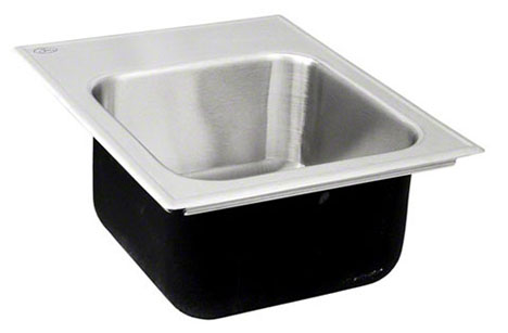 Drop-in Sink Stainless Steel Single Bowl by Just Sinks