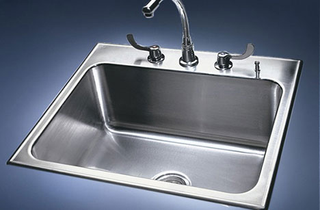 Drop-In Sink | Stainless Steel Single Bowl Drop-in Sinks | by Just