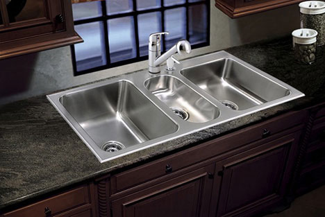 Conventional Stainless Steel Kitchen Sinkware By Just