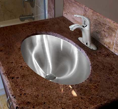 Lavatory Sink Stainless Steel Bathroom Sinks By Just - Commercial grade bathroom fixtures