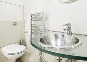 Stainless steel drop-in oval sink