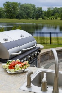outdoor stainless steel fixtures that are durable