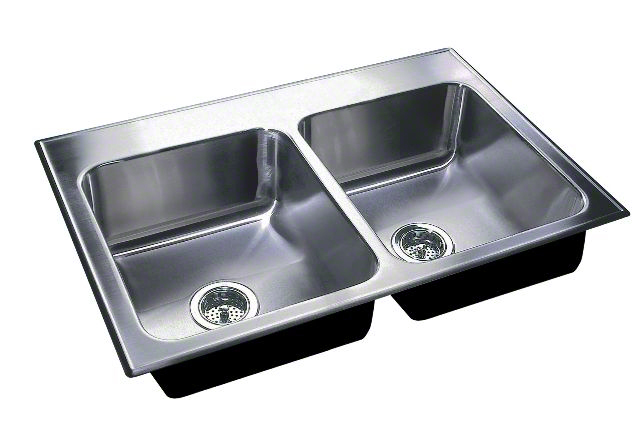 cleaning kitchen sink dlx 2237 a gr stainless steel sinks and faucets by just 2237